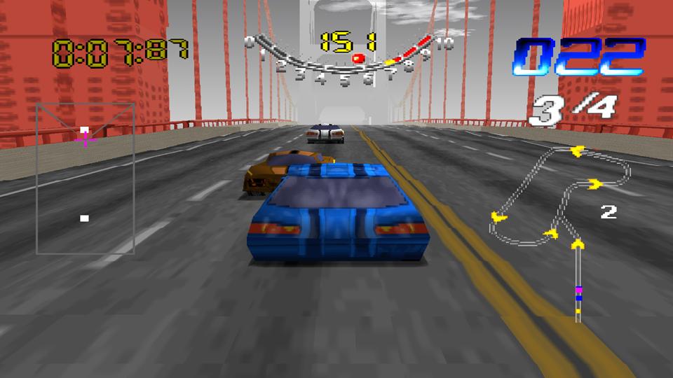 San Francisco Rush - Extreme Racing [NTSC-U] ISO < PSX ISOs
